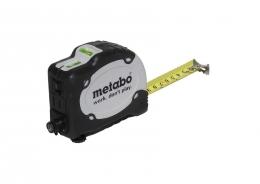 Flexómetro y nivel de obras Metabo 7,5 metros