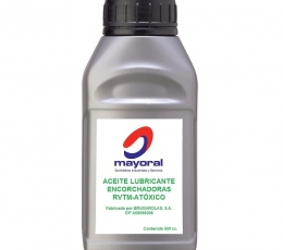 Non-poisonous lubricating oil by Brugarolas