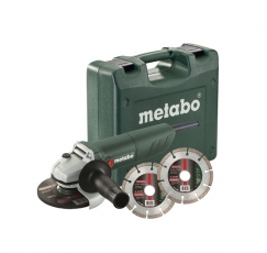 Set amoladora angular Metabo W 850-125