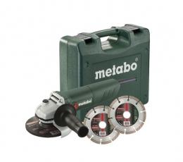 Set amoladora angular Metabo W 850-125