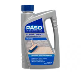 Elimina cemento mármol Paso