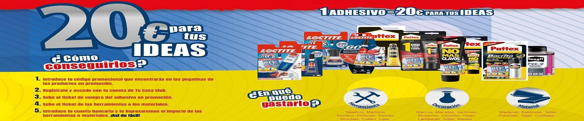 Promo Loctite 20€ GRATIS SIN SORTEOS
