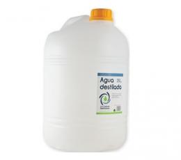 Agua destilada 25 L
