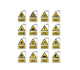 Carteles homologados de Advertencia