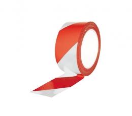 Cinta baliza roja blanca adhesiva Gayner 70 mm x...