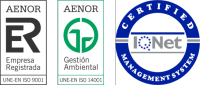 AENOR CERTIFICATES OF QUALITY