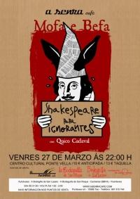 Shakespeare para Ignorantes no Día Mundial do Teatro