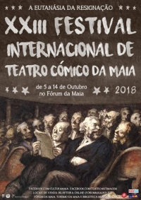 Cranios Privilexiados en el XXIII Festival Internacional de Teatro Cómico de Maia
