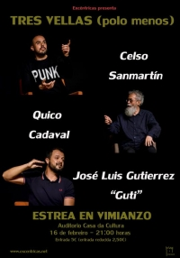 "Estrea de ""Tres Vellas (polo menos)"" en Vimianzo"