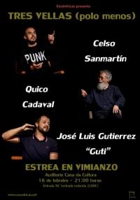 """Estreno de """"Tres Vellas (polo menos)"""" en Vimianzo"""