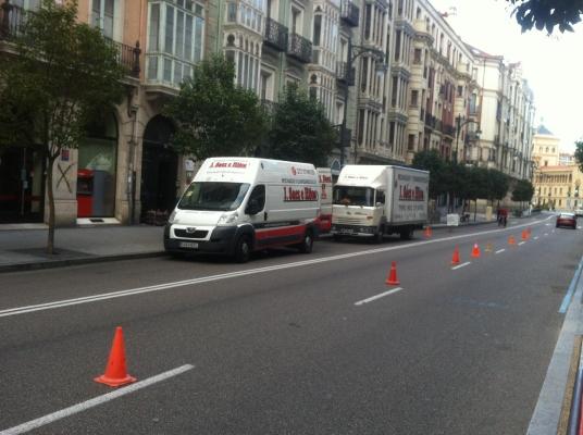 Mudanza en Valladolid