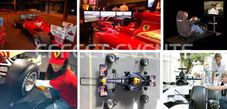Fühlen Sie sich wie ein Formel 1 Fahrer!