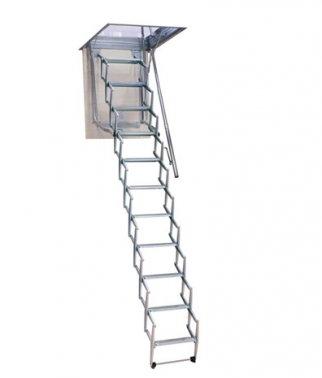 Escaleras Flexa escamoteables y plegables