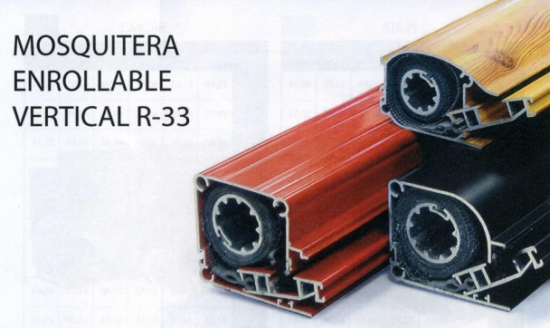 Mosquitera enrollable vertical R-33