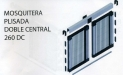 Mosquitera Plisada Doble Central 260 DC
