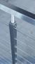 Barandillas Square line cable