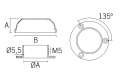 placa de anclaje AV-602 Serie Jf comenza plano