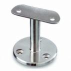 soporte de acero inoxidable para pasamanos Modelo 708  superficie plana AISI 304