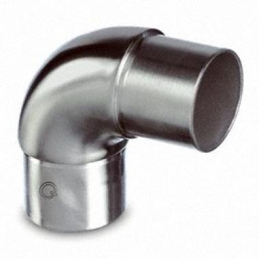 Racor de unión a 90° de tubo 305