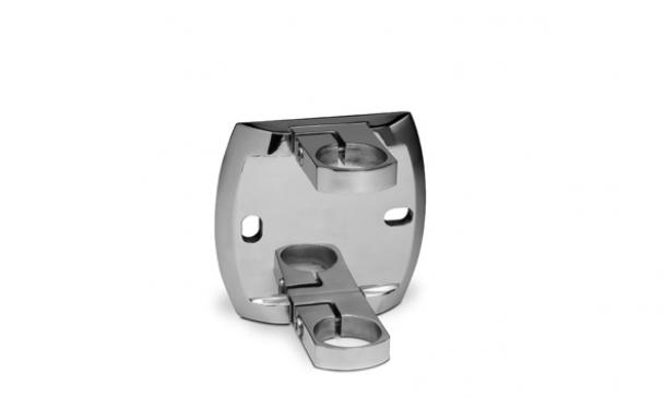 Placa de anclaje lateral para barandillas SL-1100