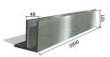 perfil de aluminio para barandilla al aire