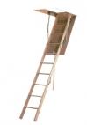 Escaleras madera escamoteables plegables