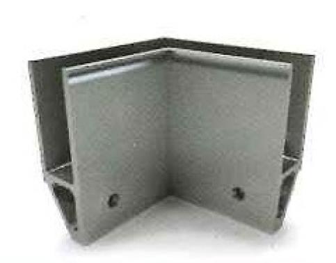 Soporte esquinero Glass U Base interna lateral