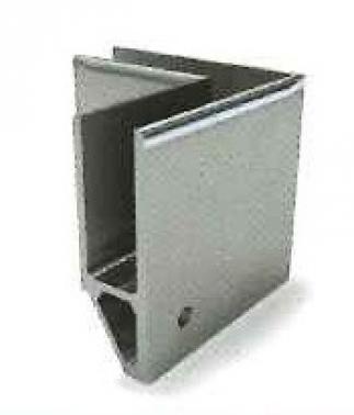 Soporte esquinero Glass U Base externa lateral