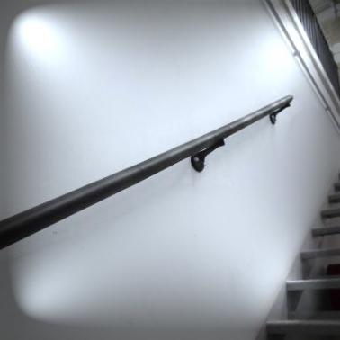 Pasamanos para Escaleras, Pasamanos de Madera, Acero