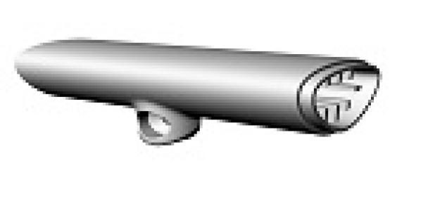 Pasamanos articulado 135mm BestBalus