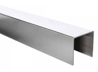 Pasamanos anodizado de aluminio sv 1250 for Pasamanos de aluminio