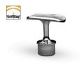 soporte de acero inoxidable para pasamanos ST302 AISI 316 medidas