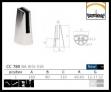Pinzas para vidrio de acero inoxidable Barmet AISI316 para barandilla CC-780 plano