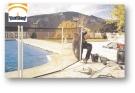 Colocando la valla de piscina Beethoven Barmet