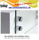 soporte de vidrio adaptador de inoxidable q-railñing comenza estebro barmet