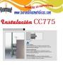 instalación de la pieza CC775 de comenza barmet