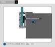 perfil en u de aluminio anodizado de barandilla de vidrio continuo AISI316 comenza steel