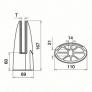 barandilla al aire arteferro q-railing india estebro comenza barandillas de diseño plano