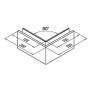 Barandilla Easy Barmet Glass Slim Montaje superior Mod.6904 plano