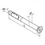 tornillo qs-519 q-railing plano