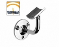 soporte de pasamanos AISI 316 espejo Comenza Barmet q-railing estebro