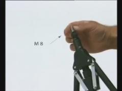 Montaje de Barandilla de vidrio Serie Q Barmet