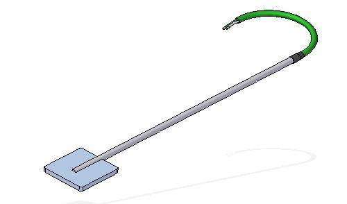 Sensor superficie tipo weld pad