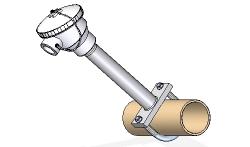 Sensor superficie tipo abarcón tuberia