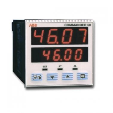 Controlador de proceso 1/16DIN con alarmas
