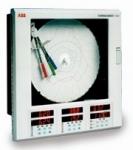 Registrador circular con rampas de control