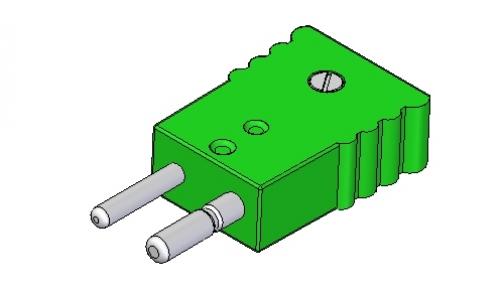 Conector standard para termopares y termorresistencias