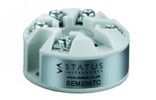Transmisor para termopar configuración por pc