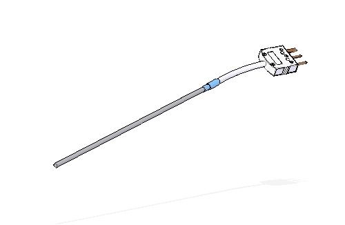 Termorresistencia encamisada con cable