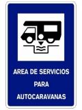 Área de servicios para autocaravanas